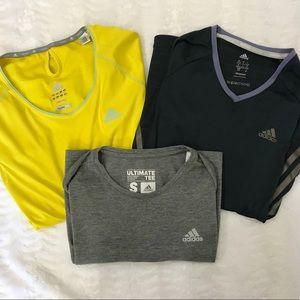 Bundle of adidas T-shirt's